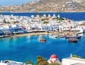 Ferry tickets to and from Mykonos