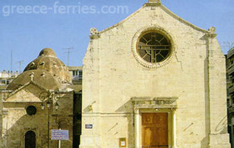 Agia Katerini Church Heraklion Crete Greek Islands Greece