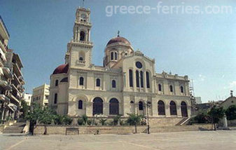 Agios Mina Cathedral Heraklion Crete Greek Islands Greece