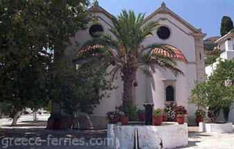 The St George Monastery Heraklion Crete Greek Islands Greece