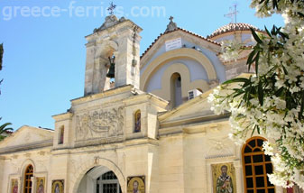 The Monastery of the Kalyviani Madonna Heraklion Crete Greek Islands Greece