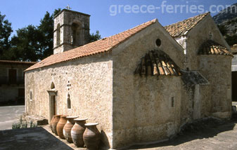 The Vrondisiou Manastery Heraklion Crete Greek Islands Greece