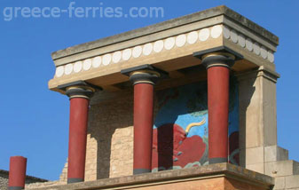 Knossos Heraklion Crete Greek Islands Greece