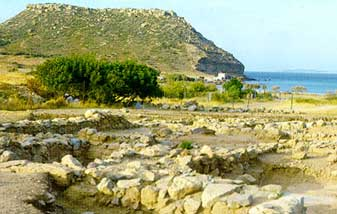 Paleokastro Lassithi Crete Greek Islands Greece