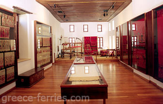 The Historical & Folklore Museum Rethymnon Crete Greek Islands Greece