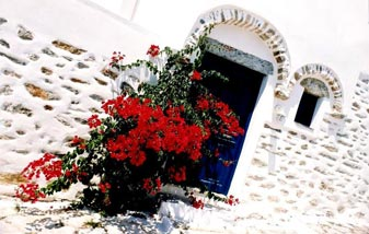 Architecture of Amorgos Cyclades Greek Islands Greece