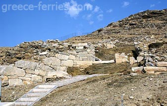 Ancient Minoa Amorgos Cyclades Greek Islands Greece