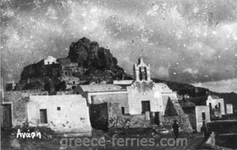 History of Anafi Cyclades Greek Islands Greece