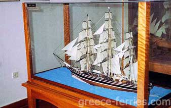 Maritime Museum Andros Cyclades Greek Islands Greece