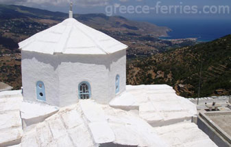 Monastery of Panahrantou Andros Cyclades Greek Islands Greece
