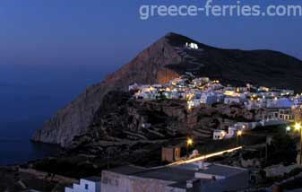 Chora Folegandros Island Cyclades Greek Islands Greece