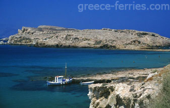 Koumbara Ios Cyclades Greek Islands Greece