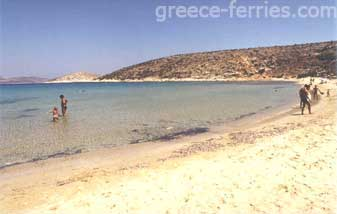 Livadi Beach Iraklia Island Cyclades Greece