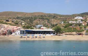 Alyki Beach Kimolos Island Cyclades Greece