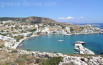 Kimolos Island Cyclades Greece