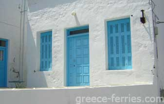 Architecture of Kimolos Greek Islands Cyclades Greece