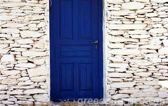 Architecture of Kythnos Island Cyclades Greece