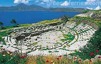 Archaeology of Milos Island Cyclades Greece