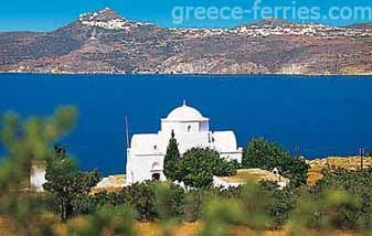 Agia Marina Milos Cyclades Greek Islands Greece