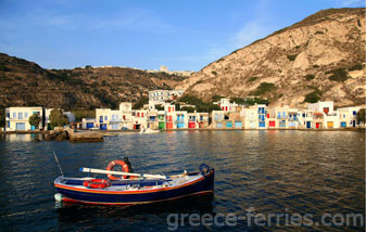 Milos Cyclades Greek Islands Greece