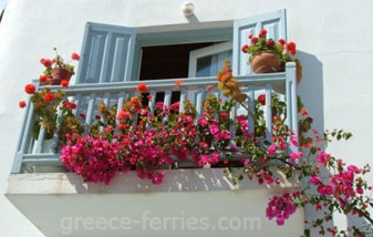 Architecture of Mykonos Island Cyclades Greece