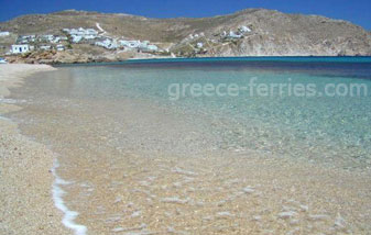 Agrari Beach Mykonos Island Greece