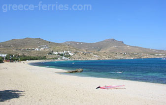 Kalafatis Beach Mykonos Island Greece