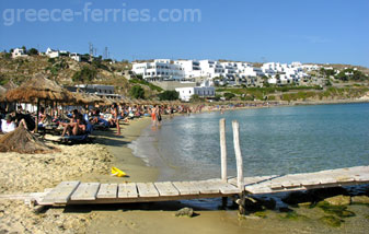 Psarou Beach Mykonos Island Greece