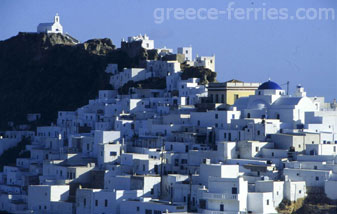 History of Serifos Island Cyclades Greece
