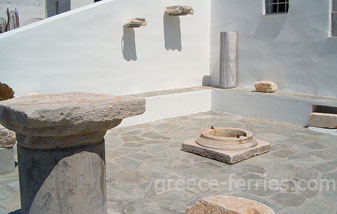 Archaeological Museum of Serifos Island Cyclades Greece