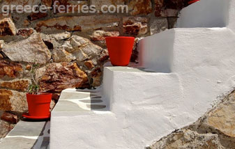 Architecture of Serifos Island Cyclades Greece