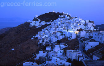 Chora Serifos Cyclades Greek Islands Greece