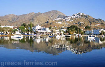 Livadi Serifos Cyclades Greek Islands Greece