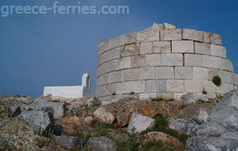 White Tower Serifos Cyclades Greek Islands Greece