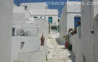 Architecture of Sifnos Island Cyclades Greece