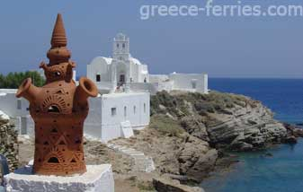 Churches & Monasteries in Sifnos Island Cyclades Greece