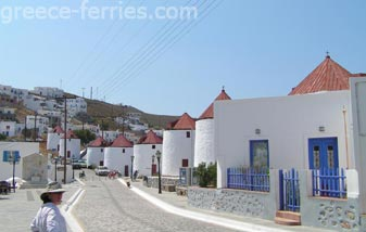 Architecture of Astypalea Dodecanese Greek Islands Greece