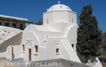 Megali Panagia Astypalea Dodecanese Greek Islands Greece