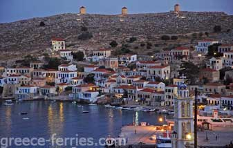 Chorio Halki Dodekanesse Greek Islands Greece