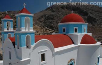 Churches & Monasteries in Kasos Dodecanese Greek Islands Greece
