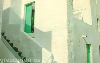 Architecture of Leros Dodecanese Greek Islands Greece