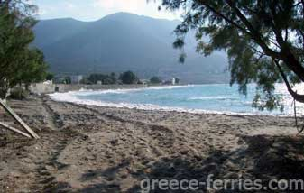 Agios Antonios Beach Tilos Dodecanese Greek Islands Greece