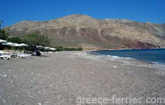 Eristos Beach Tilos Dodecanese Greek Islands Greece
