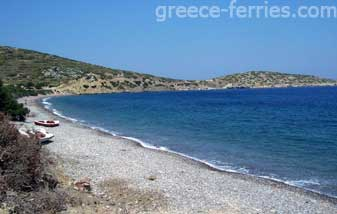 Livadia Beach Tilos Dodecanese Greek Islands Greece