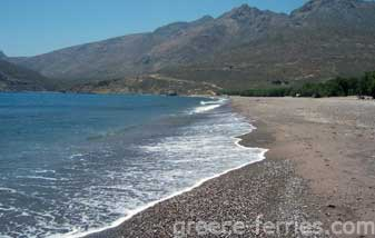 Plaka Beach Tilos Dodecanese Greek Islands Greece