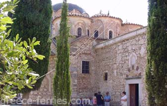 New Abbey Chios East Aegean Greek Islands Greece