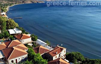 Molyvos Beach Lesvos Mytilini East Aegean Greek Islands Greece