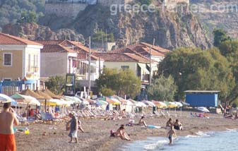 Vatera Beach Lesvos Mytilini East Aegean Greek Islands Greece