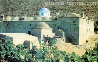 Dormition of the Virgin Marry Psara East Aegean Greek Islands Greece