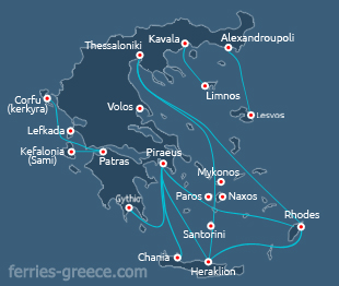 Ferries and Boats to Kasos island Dodecanese greek islands Greece